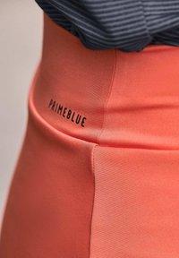 adidas Performance - PRIMEBLUE MATCH SKIRT - Sports skirt - orange - 4