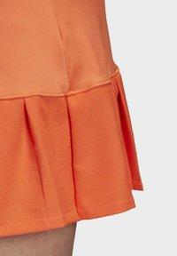 adidas Performance - PRIMEBLUE MATCH SKIRT - Sports skirt - orange - 7