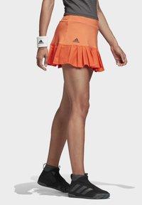 adidas Performance - PRIMEBLUE MATCH SKIRT - Sports skirt - orange - 2