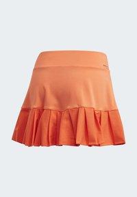 adidas Performance - PRIMEBLUE MATCH SKIRT - Sports skirt - orange - 9