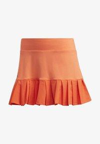 adidas Performance - PRIMEBLUE MATCH SKIRT - Sports skirt - orange - 8
