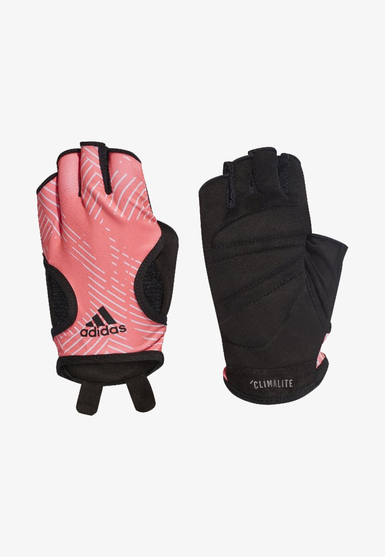 adidas Performance - Graphic Climalite Gloves - Kurzfingerhandschuh - orange