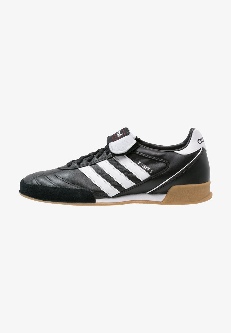adidas Performance - KAISER 5 GOAL - Indoor football boots - black/running white