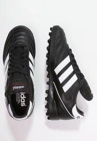 adidas Performance - KAISER 5 TEAM TF - Hiekkakengät - black/running white - 1