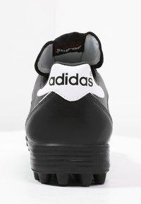 adidas Performance - KAISER 5 TEAM TF - Hiekkakengät - black/running white - 3