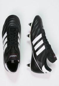 adidas Performance - KAISER 5 CUP - Nurmikengät - black/white/red - 1