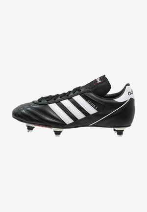 KAISER 5 CUP - Screw-in stud football boots - black/white/red