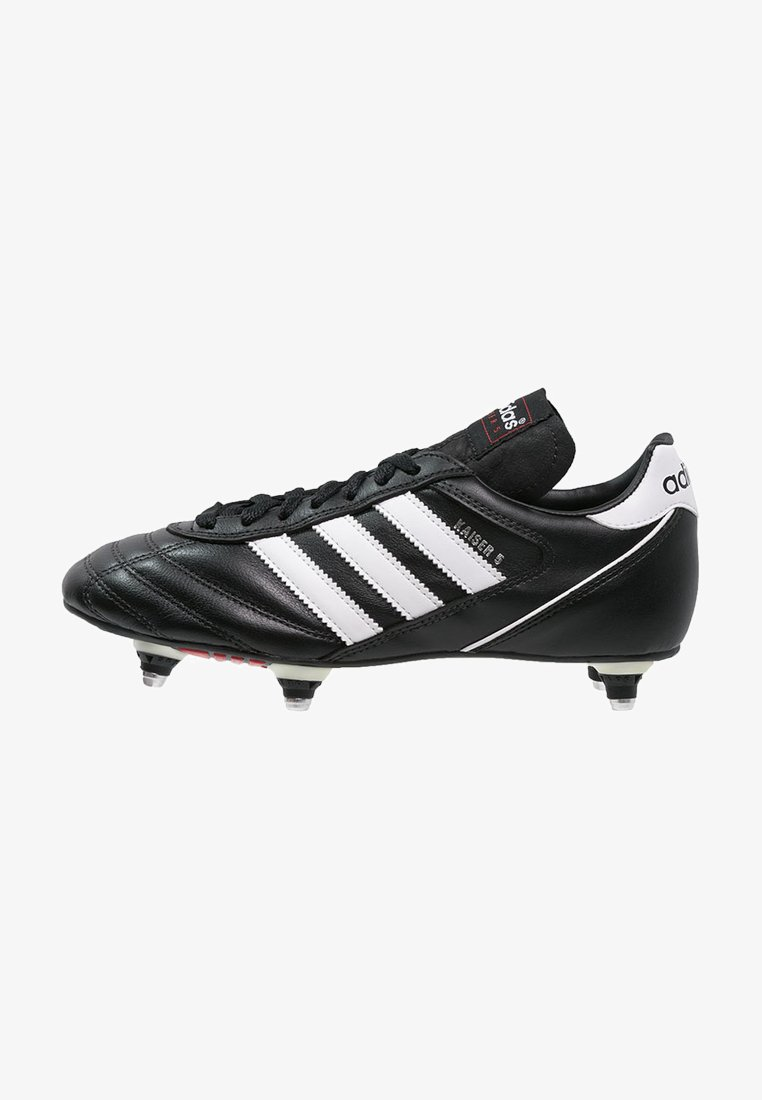 adidas Performance - KAISER 5 CUP - Nurmikengät - black/white/red
