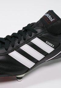 adidas Performance - KAISER 5 CUP - Nurmikengät - black/white/red - 5