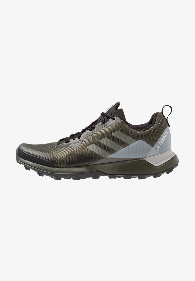 adidas Performance - TERREX CMTK - Trail running shoes - night cargo/trace cargo/grey two