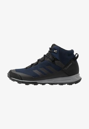 TERREX TIVID MID CLIMAPROOF HIKING SHOES - Hiking shoes - collegiate navy/core black/grey three