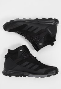 adidas Performance - TERREX TIVID MID CLIMAPROOF HIKING SHOES - Obuwie hikingowe - black - 1