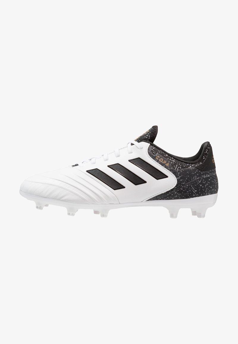adidas Performance - COPA 18.2 FG - Fußballschuh Nocken - white/black/tagome