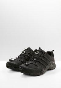 adidas Performance - TERREX SWIFT R2 HIKING SHOES - Hiking shoes - coren black - 2