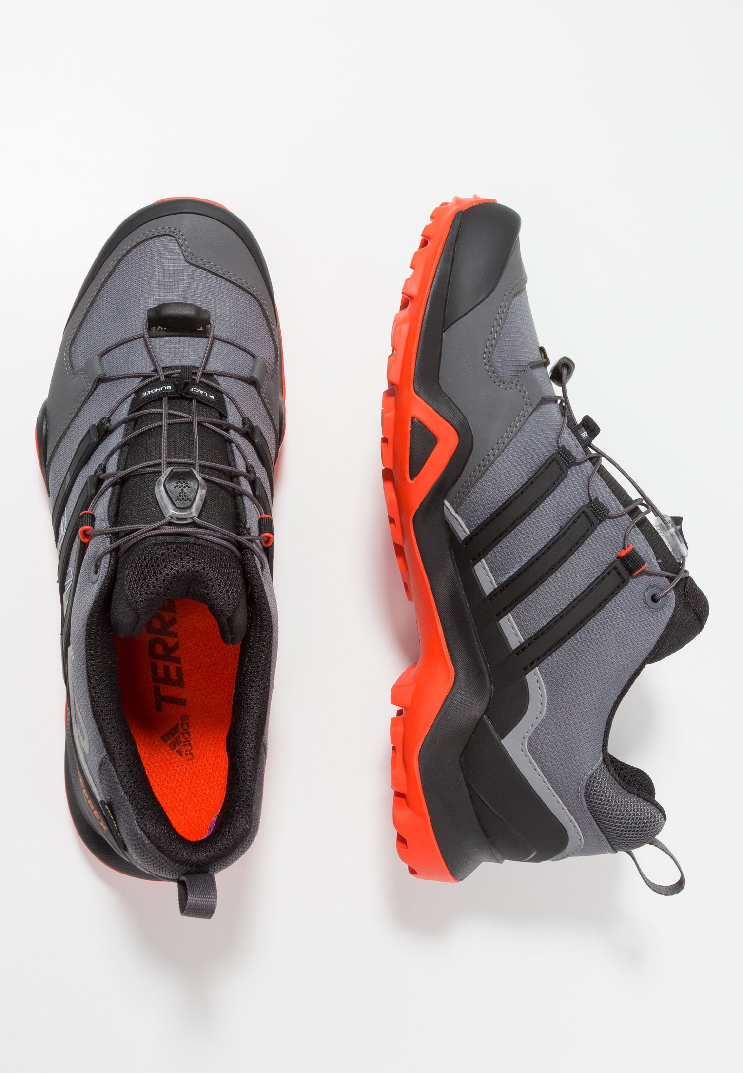 TERREX SWIFT R2 GORE TEX Chaussures de marche grey fivecore blackactive orange