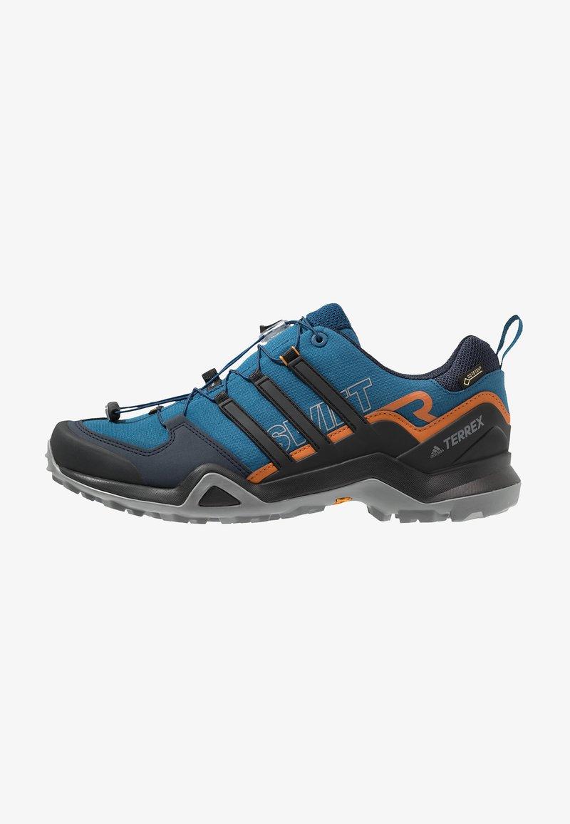 adidas Performance - TERREX SWIFT R2 GORE TEX HIKING SHOES - Chaussures de marche - legend marine/core black/tech copper