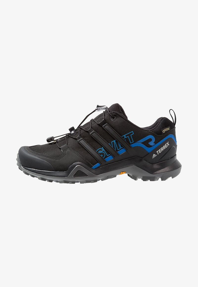 adidas Performance - TERREX SWIFT R2 GORE TEX HIKING SHOES - Scarpa da hiking - core black/blue