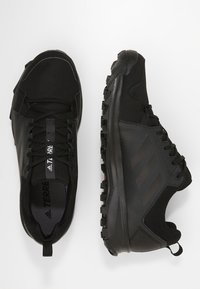 adidas Performance - TERREX TRACEROCKER GORE TEX TRAIL RUNNING SHOES - Hiking shoes - core black/carbon - 1