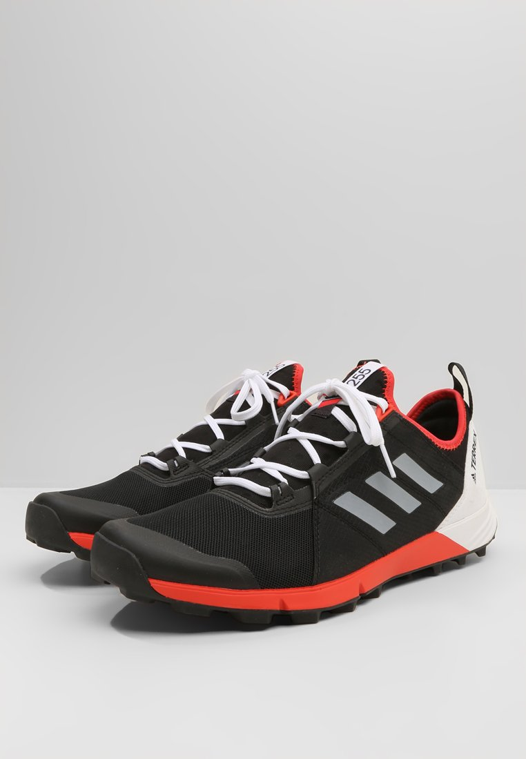 De Adidas Running SpeedChaussures Terrex Black Performance Agravic white hire Red dxBoeQrCW