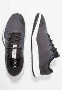 adidas Performance - CRAZYTRAIN LT M - Træningssko - grey five/core black/grey two - 1