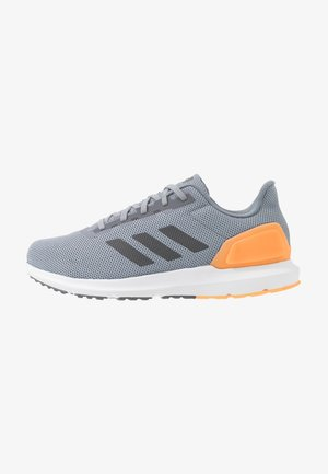 COSMIC 2 - Neutral running shoes - grey/grey five/flash orange