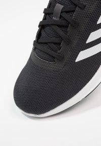 adidas Performance - COSMIC 2 - Scarpe running neutre - carbon/footwear white/core black - 5