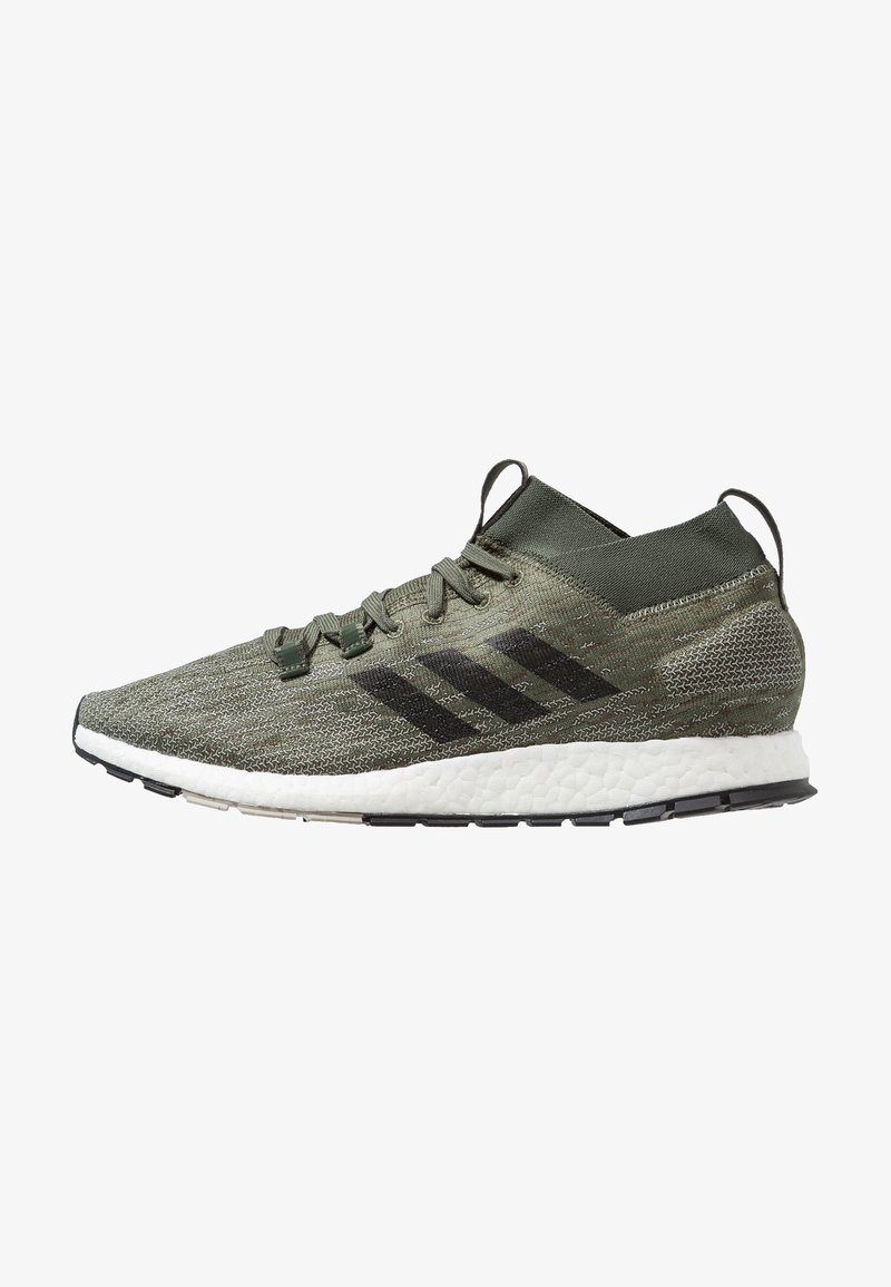 adidas Performance - PUREBOOST RBL - Neutral running shoes - basic green/core black/sesame