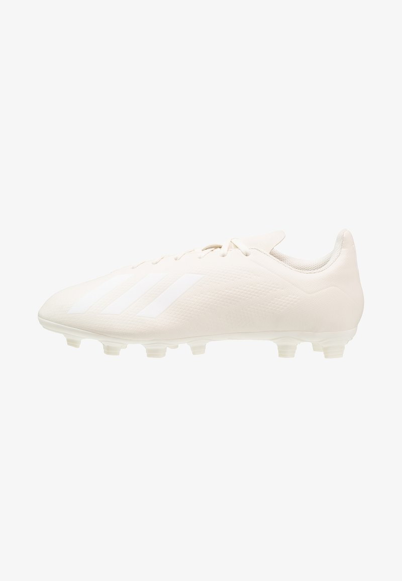 adidas Performance - X 18.4 FG - Chaussures de foot à crampons - offwhite/footwear white
