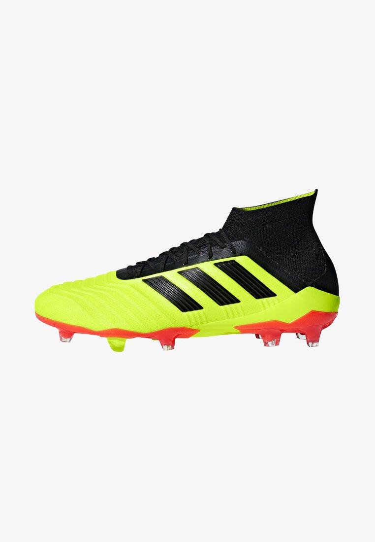 adidas Performance - PREDATOR 18.1 FG - Fußballschuh Nocken - syello/cblack/solred