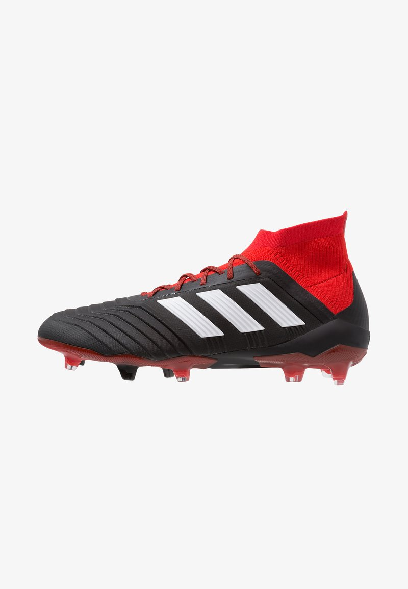 adidas Performance - PREDATOR 18.1 FG - Moulded stud football boots - core black/footwear white/red
