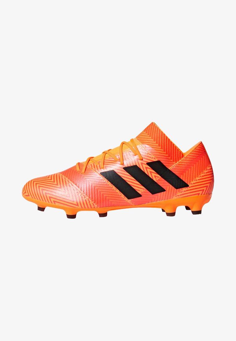 adidas Performance - NEMEZIZ 18.2 FG - Fußballschuh Nocken - zest/cblack/solred