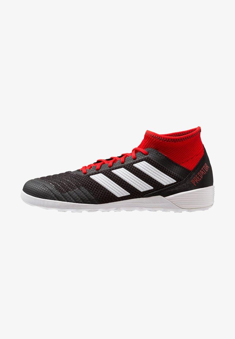 adidas Performance - PREDATOR TANGO 18.3 IN - Zaalvoetbalschoenen - core black/footwear white/red