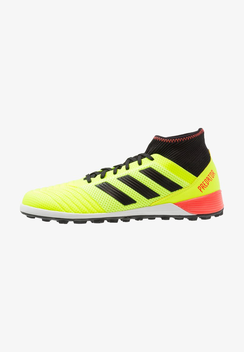 adidas Performance - PREDATOR TANGO 18.3 TF - Fußballschuh Multinocken - solar yellow/core black/solar red