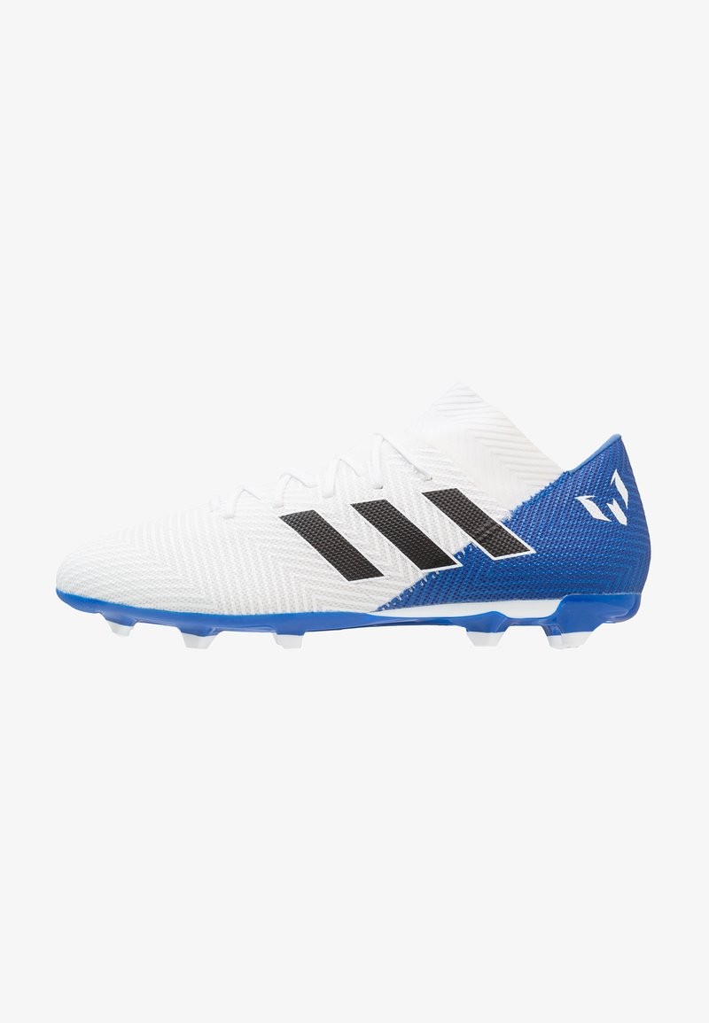 adidas Performance - NEMEZIZ MESSI 18.3 FG - Fußballschuh Nocken - footwear white/core black/blue