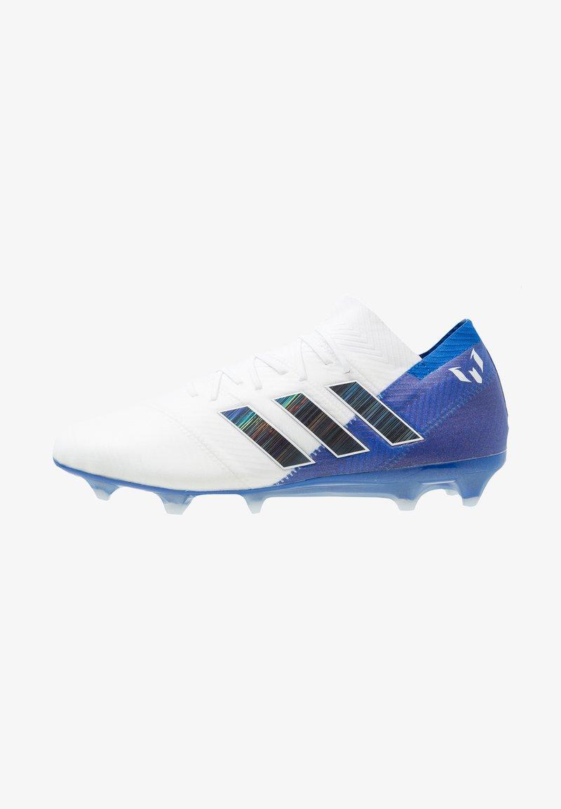 adidas Performance - NEMEZIZ MESSI 18.1 FG - Moulded stud football boots - footwear white/core black/football blue