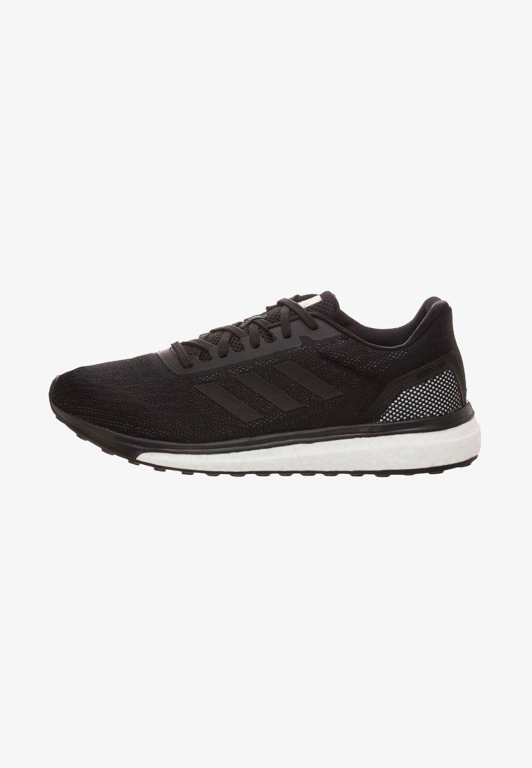 adidas Performance - RESPONSE - Neutral running shoes - schwarz/weiß