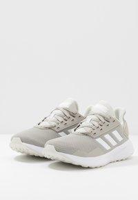 adidas Performance - DURAMO 9 - Neutral running shoes - metallic grey/footwear white/grey - 2