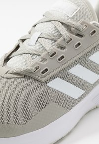 adidas Performance - DURAMO 9 - Neutral running shoes - metallic grey/footwear white/grey - 5