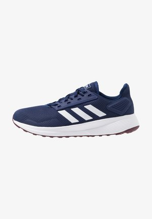 DURAMO 9 - Neutral running shoes - dark blue/footwear white/marron