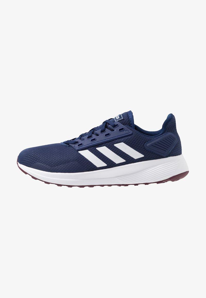 adidas Performance - DURAMO 9 - Scarpe running neutre - dark blue/footwear white/marron