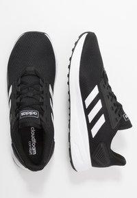 adidas Performance - DURAMO 9 - Juoksukenkä/neutraalit - core black/footwear white - 1