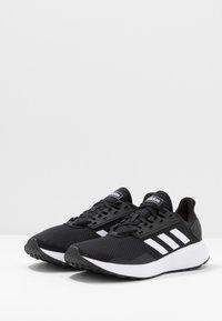 adidas Performance - DURAMO 9 - Juoksukenkä/neutraalit - core black/footwear white - 2