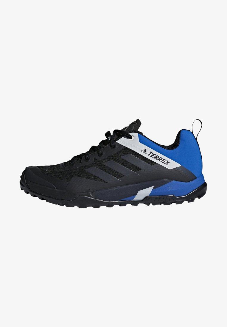 adidas Performance - TERREX TRAIL CROSS SL SHOES - Fahrradschuh - black/blue
