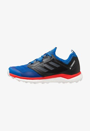 TERREX AGRAVIC XT - Laufschuh Trail - blue beauty/green five/active red