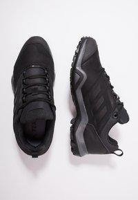 adidas Performance - TERREX BRUSHWOOD LEATHER HIKING SHOES - Hikingskor - core black/grey five - 1