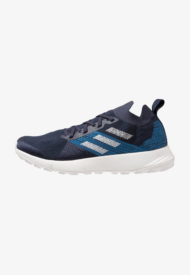 adidas Performance - TERREX TWO PARLEY - Trail running shoes - legend ink/grey one/core blue