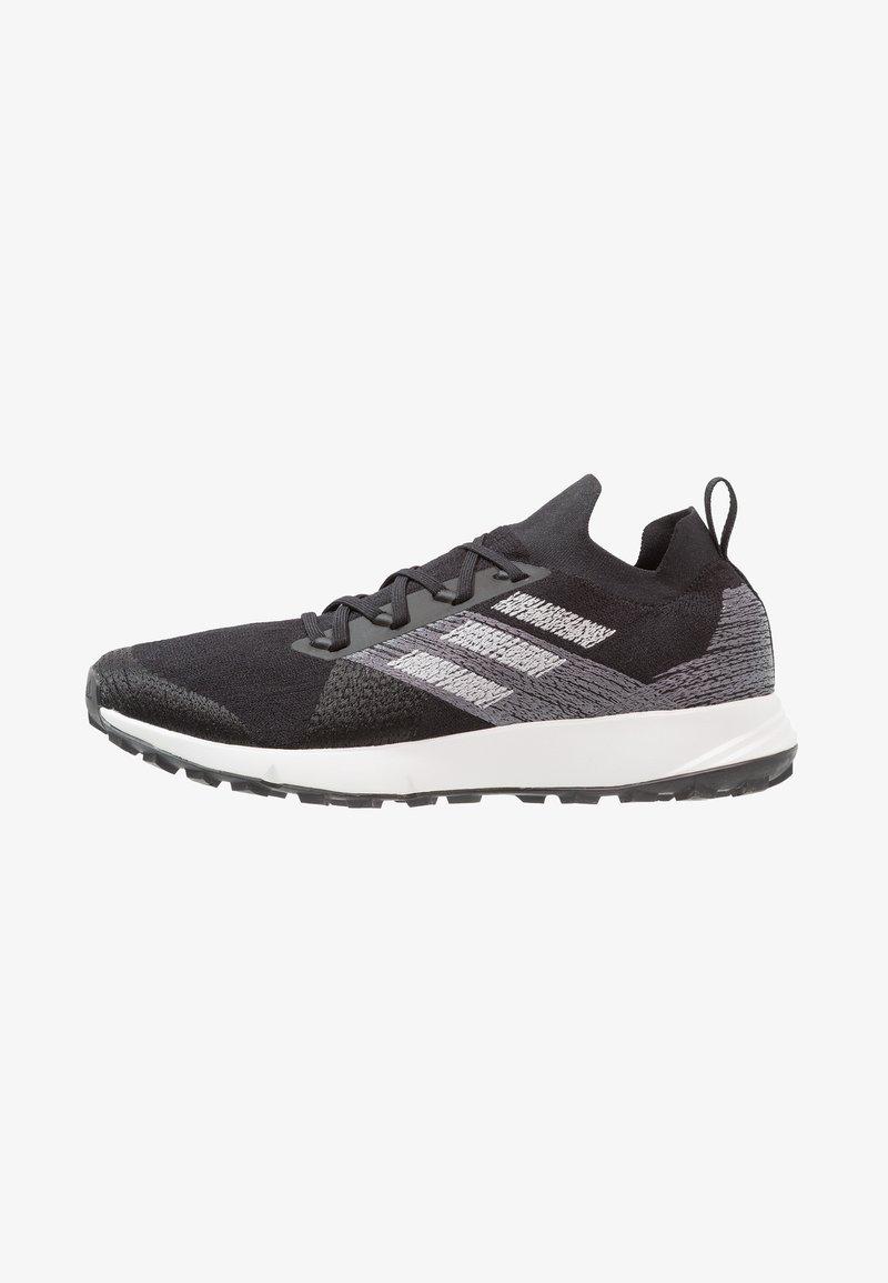 adidas Performance - TERREX TWO PARLEY - Zapatillas de trail running - core black/grey two/footwear white