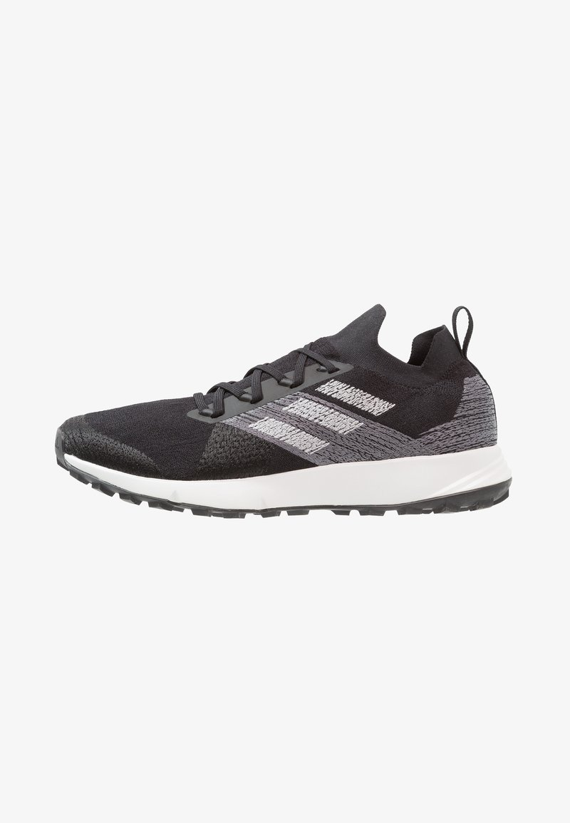 adidas Performance - TERREX TWO PARLEY - Laufschuh Trail - core black/grey two/footwear white