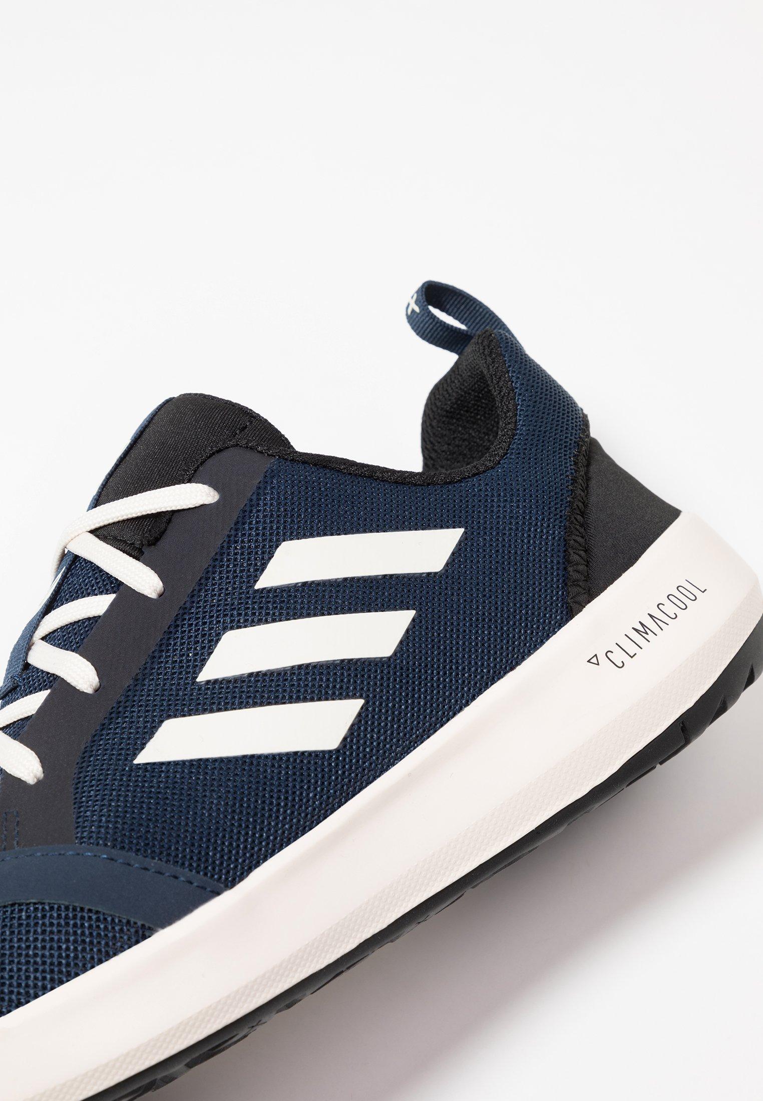 adidas Performance TERREX BOAT - Chaussures aquatiques - collegiate navy/white/core black
