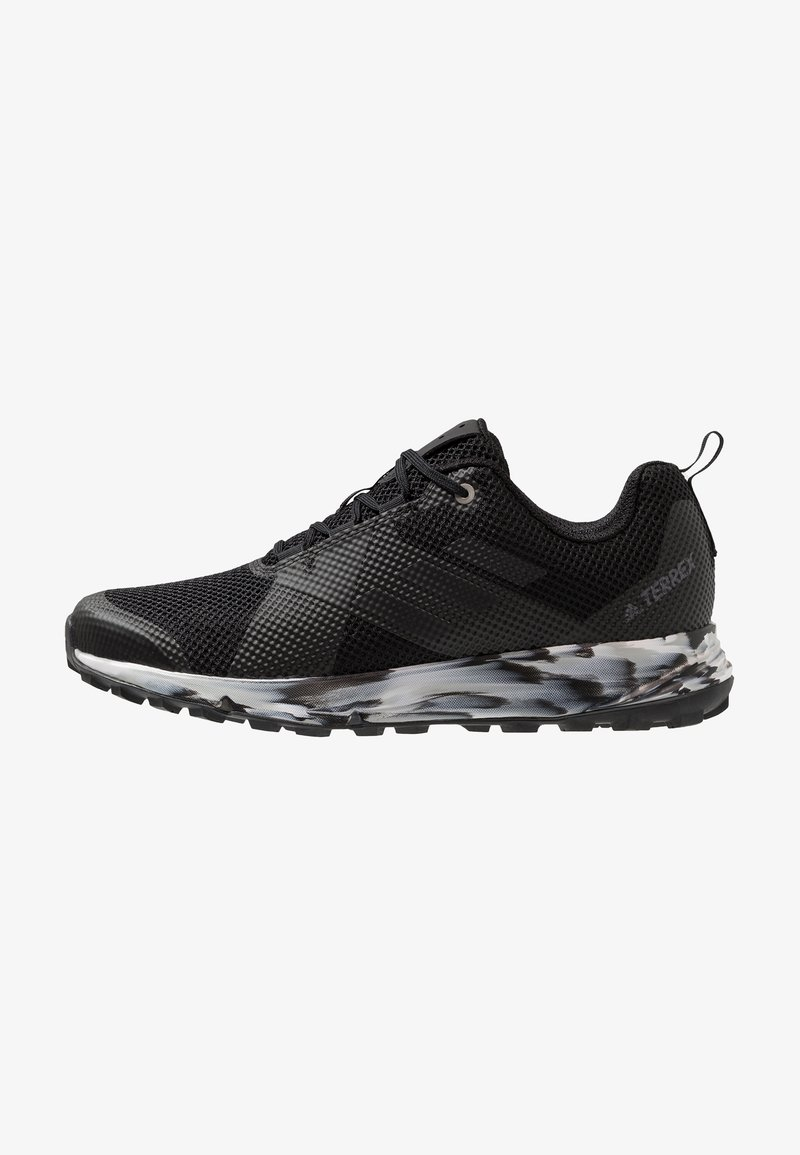 adidas Performance - TERREX TWO TRAIL RUNNING SHOES - Løpesko for mark - core black/carbon/grey one